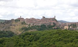 Medieval villages Maremma